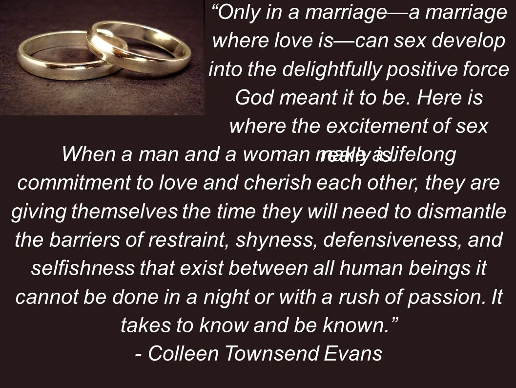 D) CONFIDE in your spouse and be able to be confided in 4 Love is patient and kind; love does not envy or boast; it is not arrogant 5 or rude.