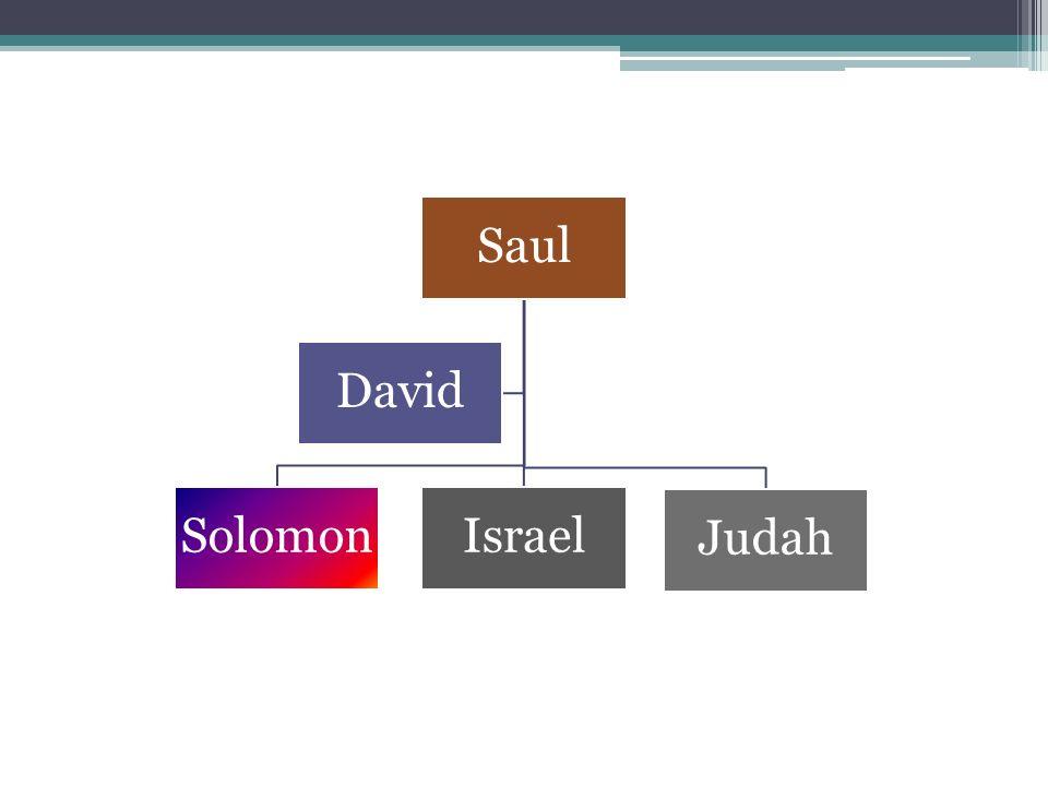 Saul SolomonIsrael Judah David