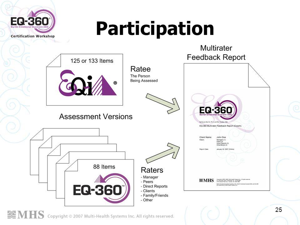 25 Participation