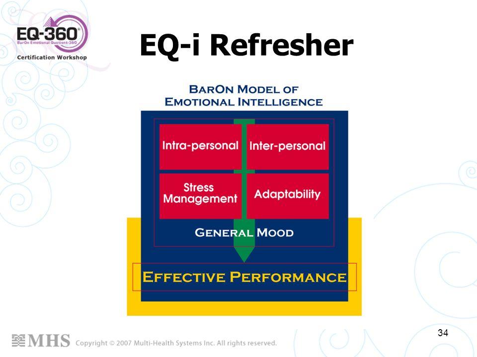 34 EQ-i Refresher