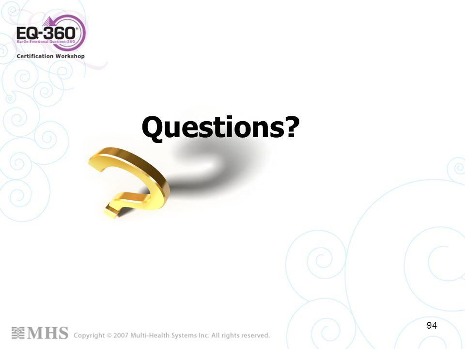 94 Questions?