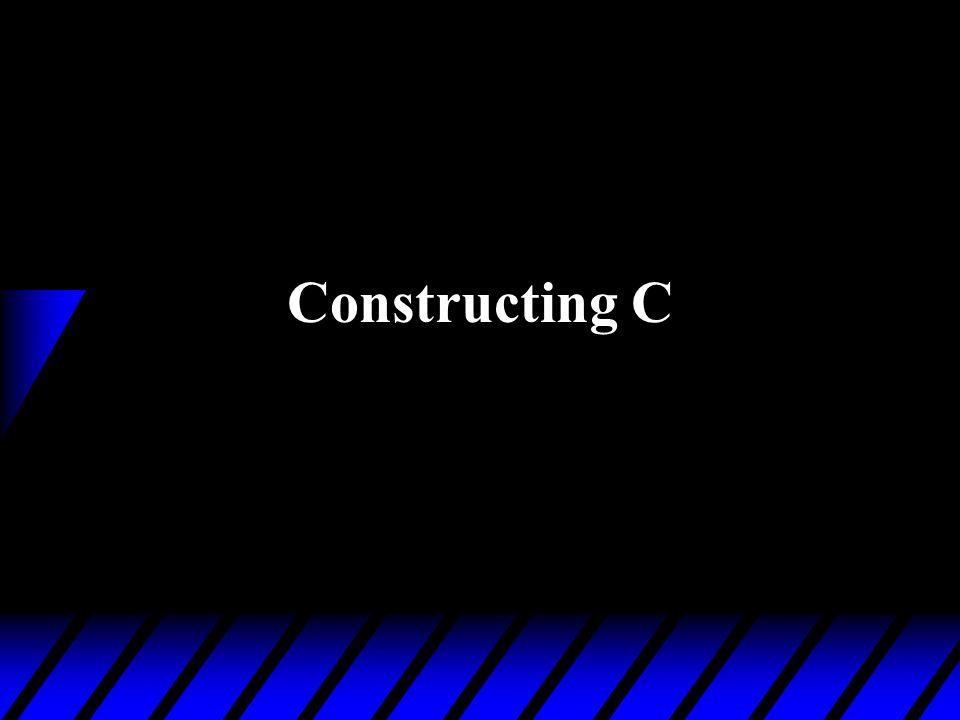 Constructing C