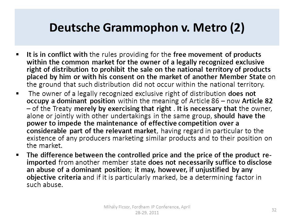 Deutsche Grammophon v.