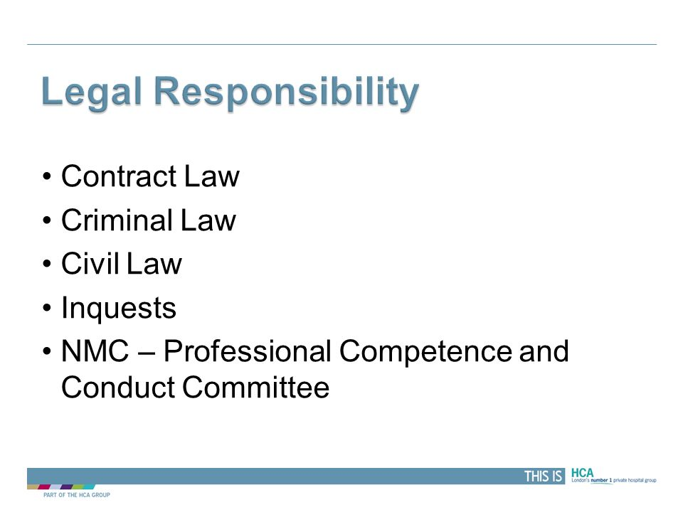 THIS IS Contract Law Criminal Law Civil Law Inquests NMC – Professional Competence and Conduct Committee