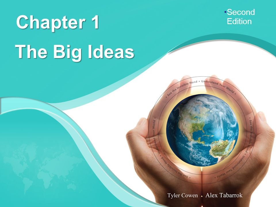 Second Edition Chapter 1 The Big Ideas