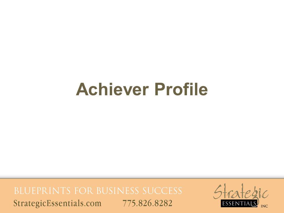 Achiever Profile