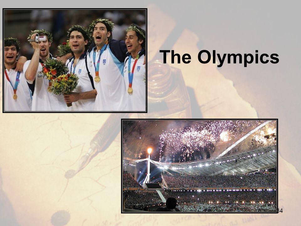 The Olympics 34