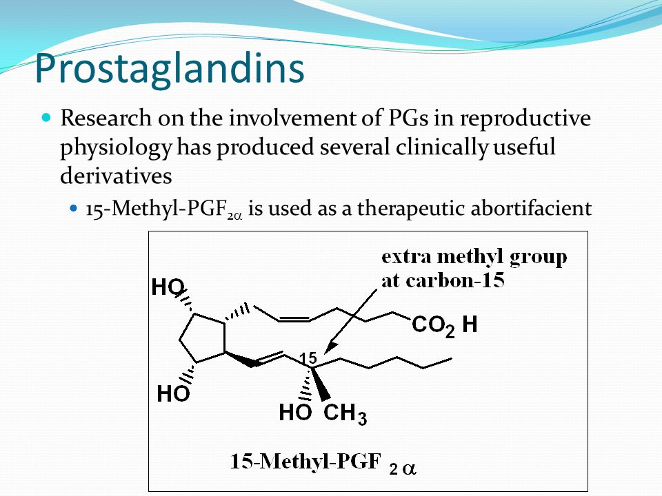 Prostaglandins Prostaglandins are not stored in tissues as such, but are synthesized from membrane-bound 20-carbon polyunsaturated fatty acids (arachi