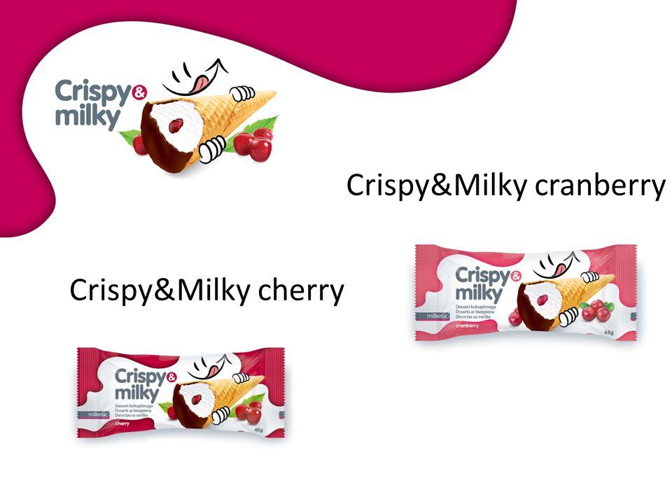 Crispy&Milky cherry Crispy&Milky cranberry