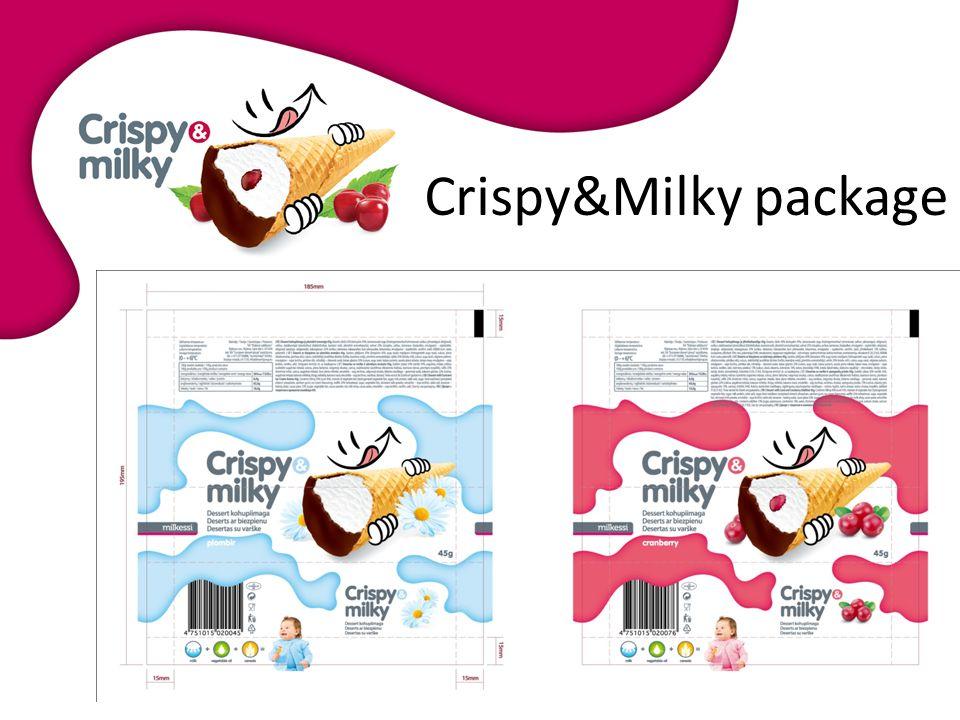 Crispy&Milky package