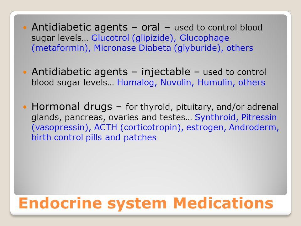 More gastrointestinal medications Medications for Constipation – MANY!!! Stimulants… Castor oil, Senokot, Dulcolax, Ex-lax Saline… Milk of Magnesia, E