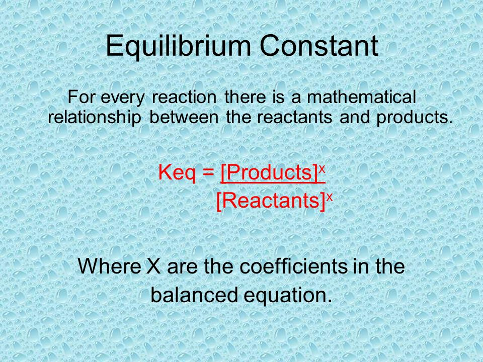 Le Chateliers Principle Similarly, if we add more products to the system, it will look like this: But a system that is in equilibrium will shift again