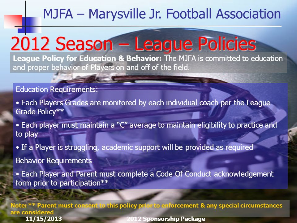 MJFA – Marysville Jr.