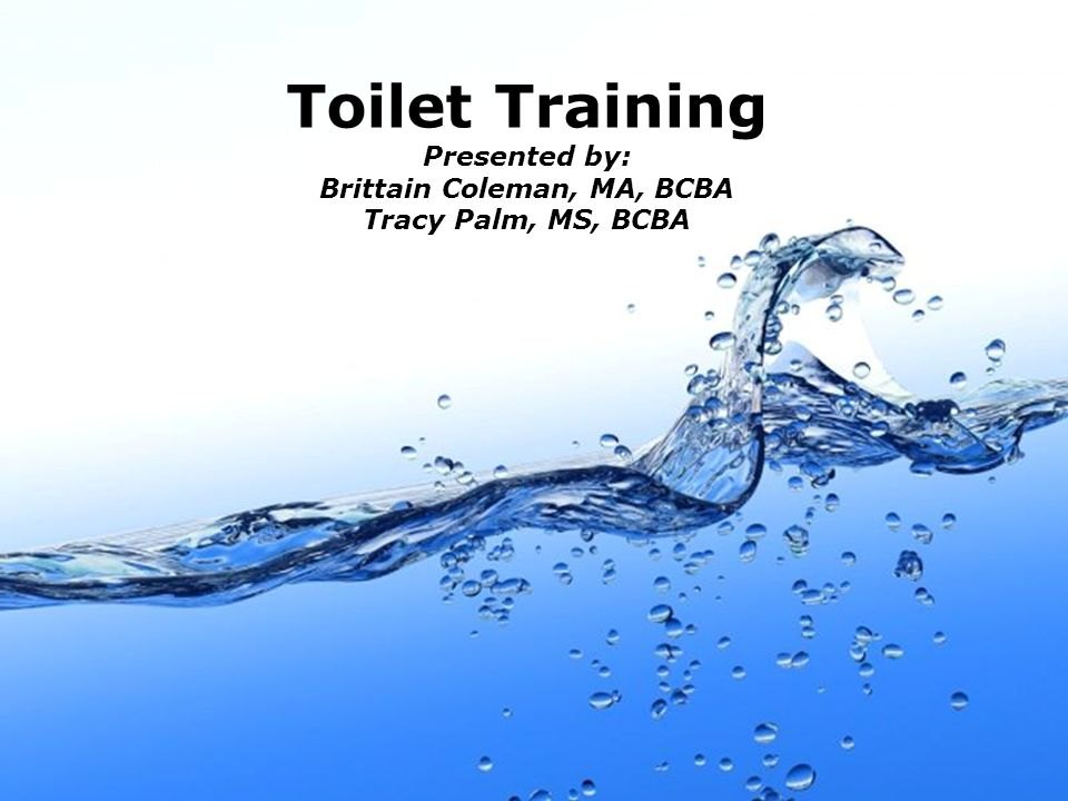 Page 2 Method #1 Habit training is a type of toilet training in which the goal is to develop toileting behavior through repeatedly doing a behavior in the same way over and over.