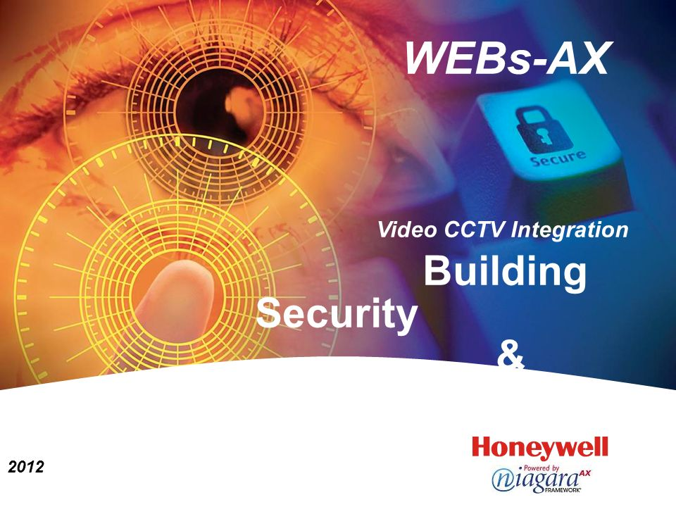 WEBs-AX Building Security & Automation 2012 Video CCTV Integration