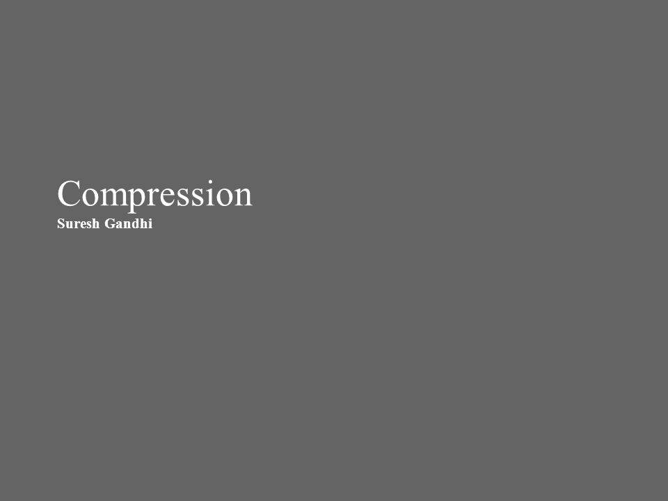 Compression – Methods around The data grows in relational databases (new business requirements, managing audit data etc), the cost associated with the disk systems to store that data and the resources required to manage them becomes vital.
