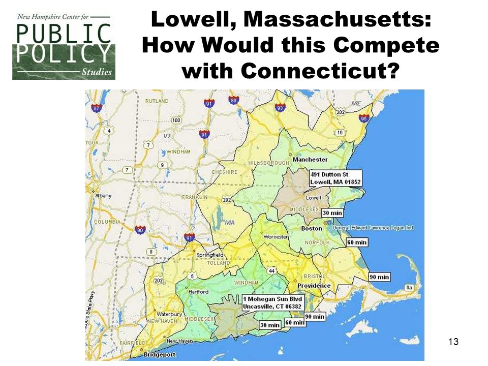 13 Lowell, Massachusetts: How Would this Compete with Connecticut