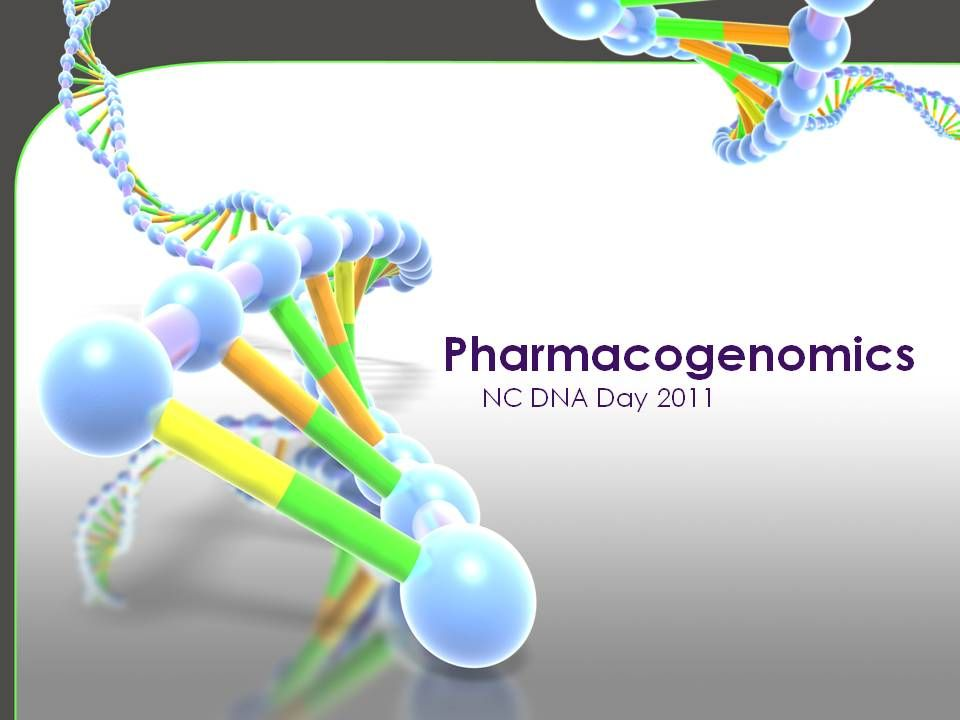 DNA Day - Pharmacogenetics1