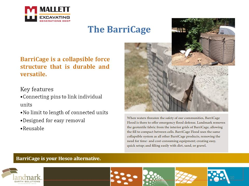10 The BarriCage BarriCage is your Hesco alternative.