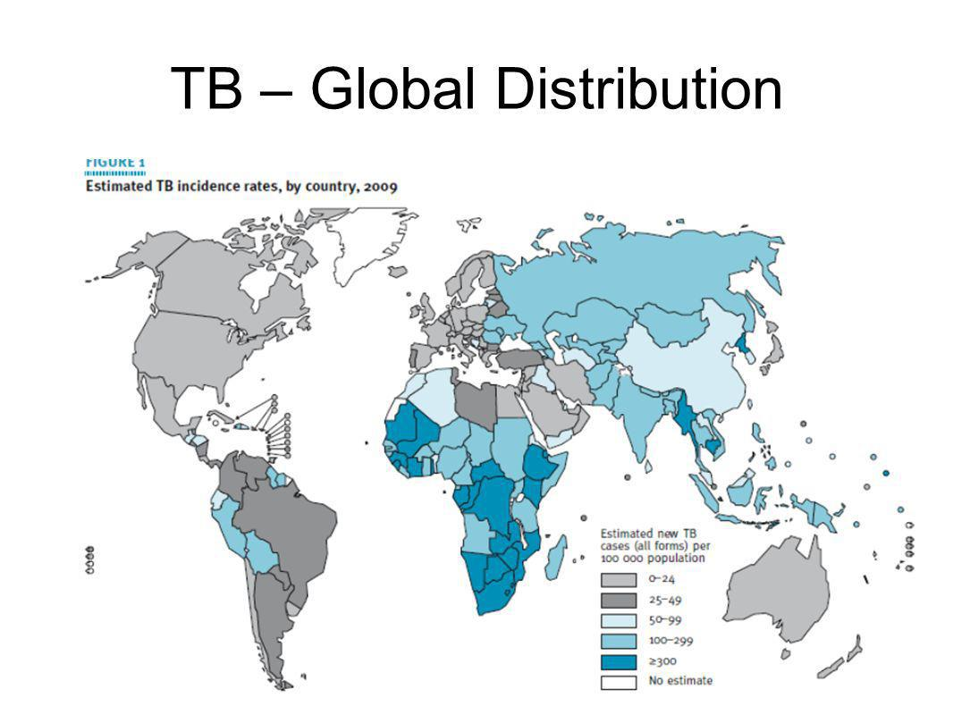 Interventions Anti-TB drugs ( www.cdc.gov/tb/publications ) o Frontline: rifampicin, isoniazid, pyrizinamide, and ethambutol o Second line: fluoroquinolones, amikacin, kanamycin, or capreomycin Drug Resistance: 250,000 reported (WHO-TB, 2010) Options for Disease control o Development of new line of drugs o Reversal of drug resistance Antisense Technology