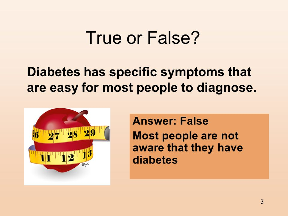 2 What Is Type 2 Diabetes? High fasting blood sugar levels Excessively high non-fasting BS levels People with Type-2 diabetes usually have some degree