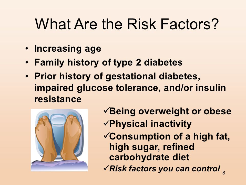 7 Type 2 Diabetes What is the annual cost of treatment for type 2 diabetes? Over $100 billion dollars
