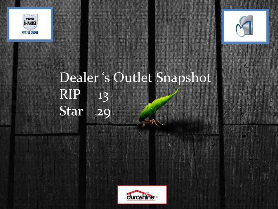 Dealer s Outlet Snapshot RIP 13 Star 29