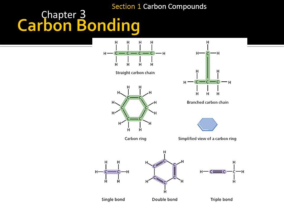 Chapter 3 Section 1 Carbon Compounds