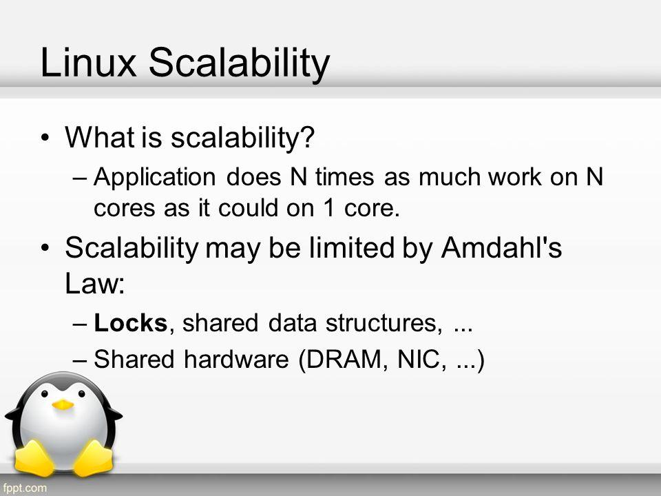 Linux Scalability