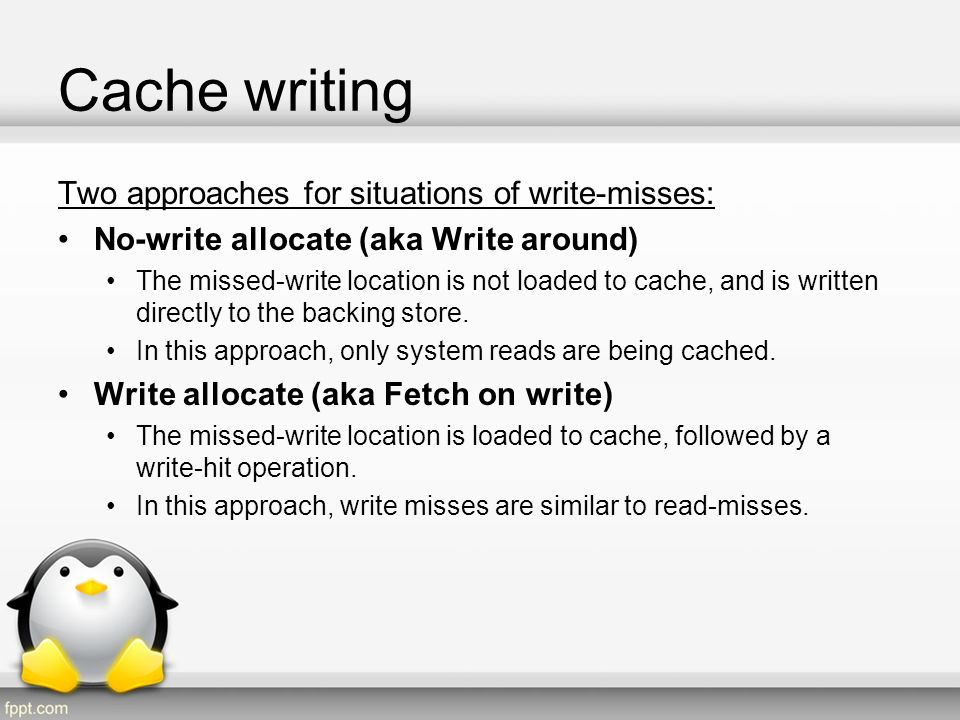Cache coherence Coherence defines the behavior of reads and writes to the same memory location.