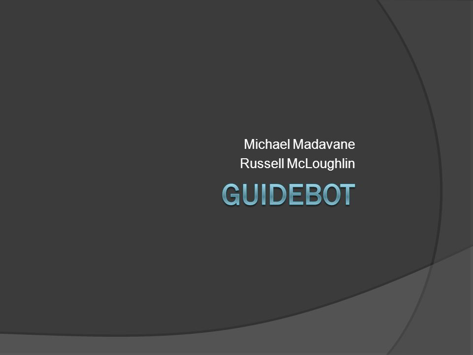 Michael Madavane Russell McLoughlin