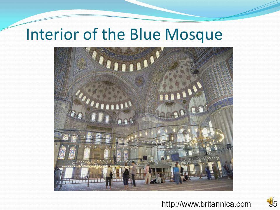 Blue Mosque (Sultan Ahmet Mosque), Istanbul Turkey http://cs.ua.edu/~greg/personal.html 34