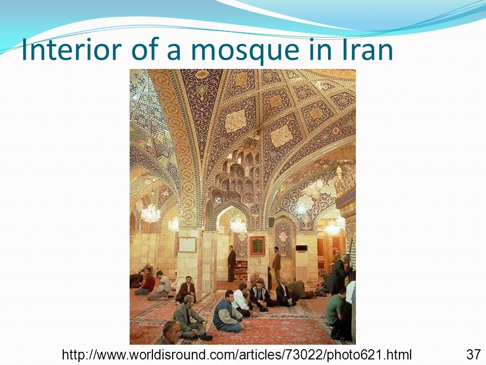Dome of a mosque, Esfahan, Iran http://www.perceptivetravel.com/issues/1106/maclean.html 36