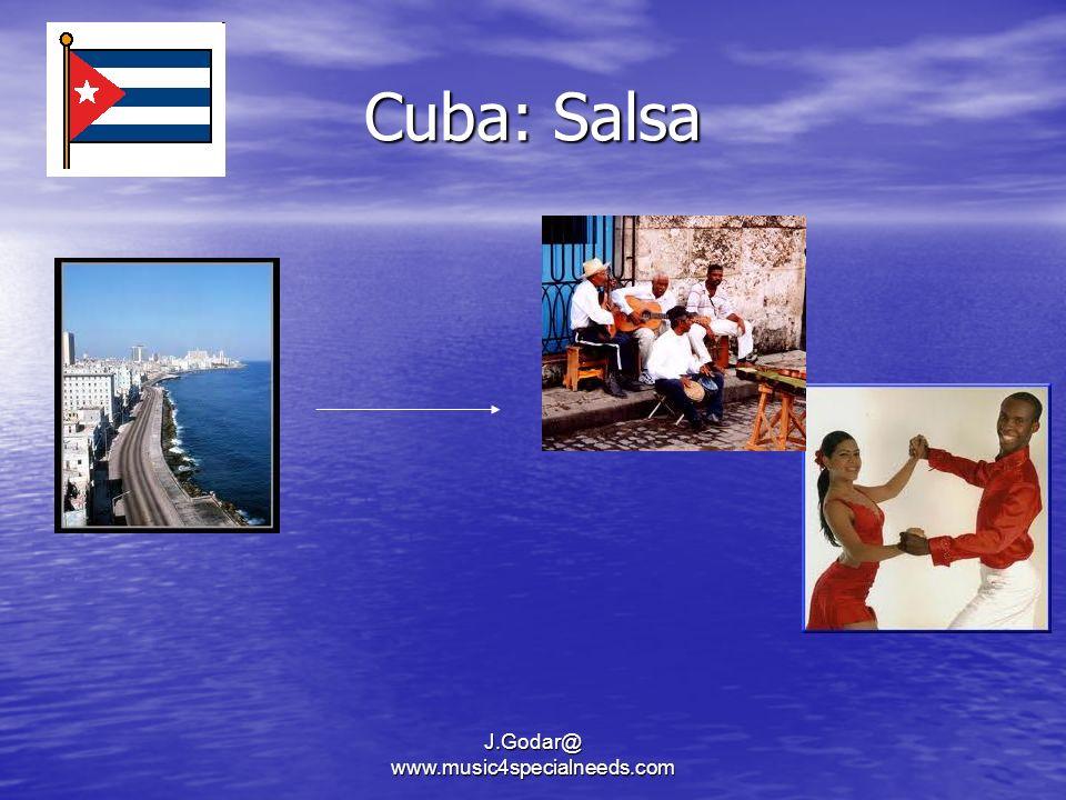 Cuba: Salsa J.Godar@ www.music4specialneeds.com