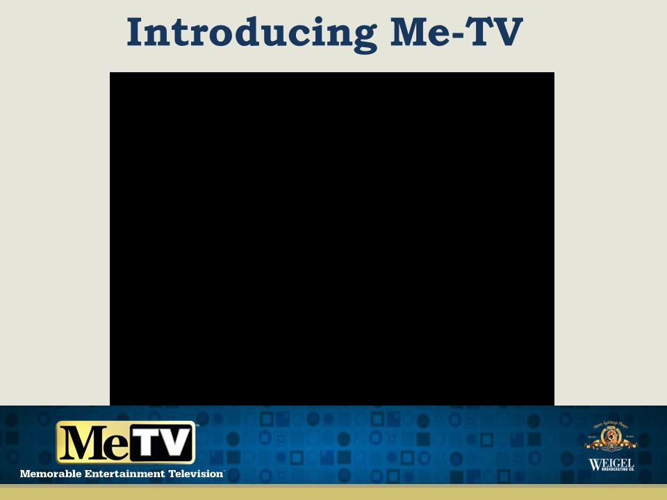 Introducing Me-TV