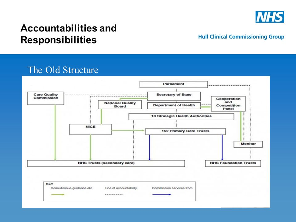 The New Structure Accountabilities and Responsibilities
