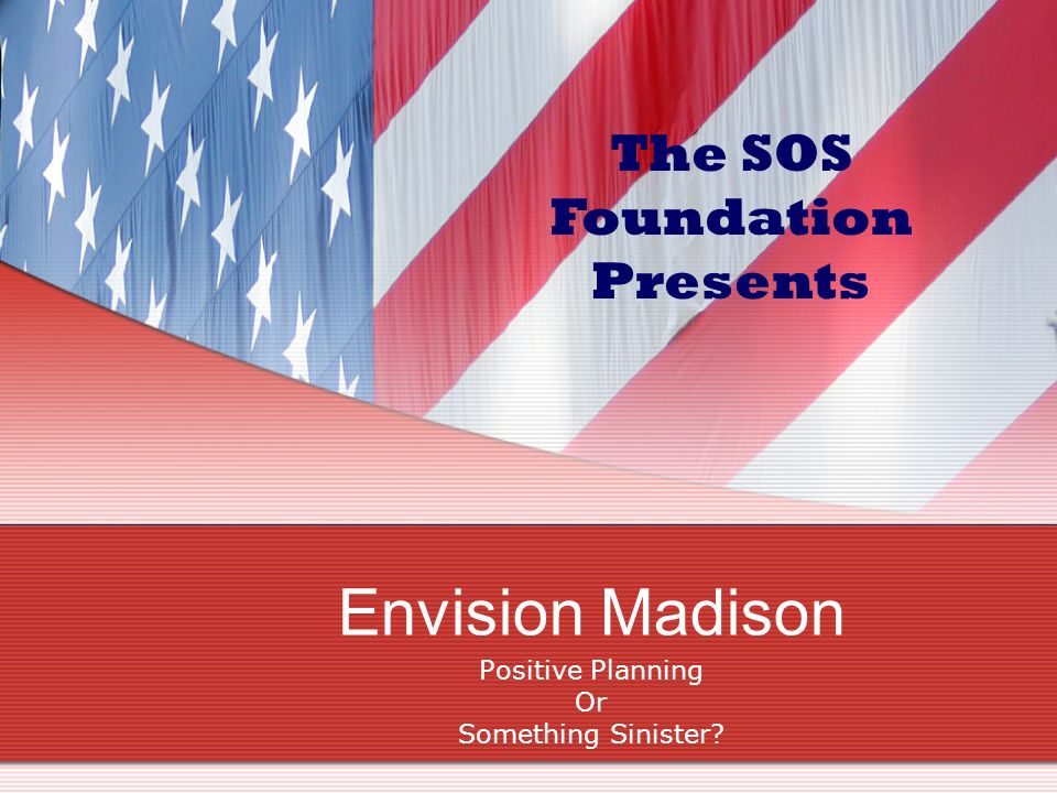 Envision Utah Leave Your Personal Interests at the Door, Please.