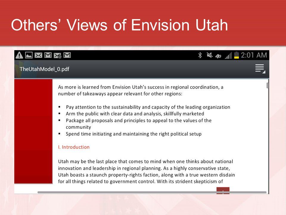 Others Views of Envision Utah