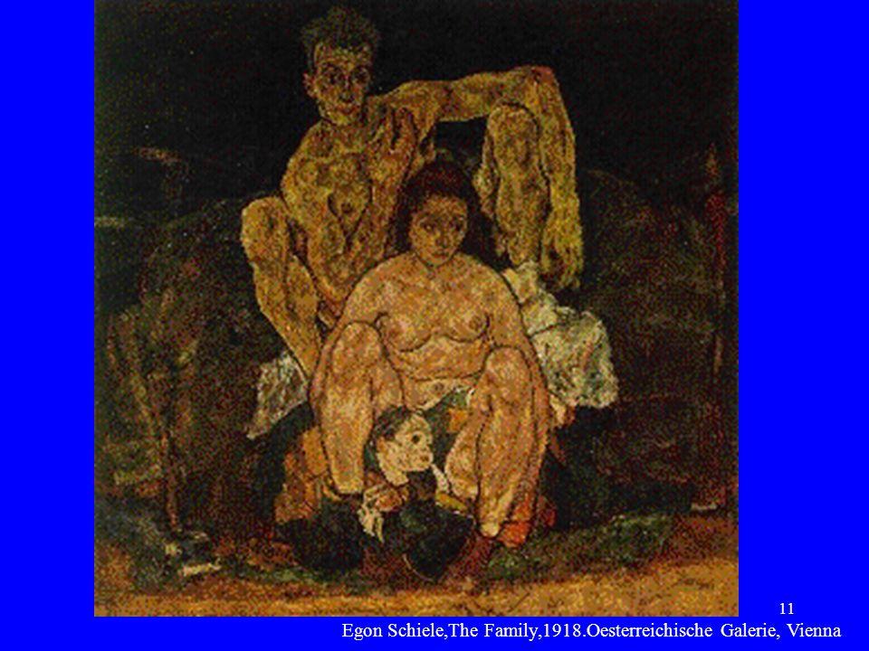 11 Egon Schiele,The Family,1918.Oesterreichische Galerie, Vienna