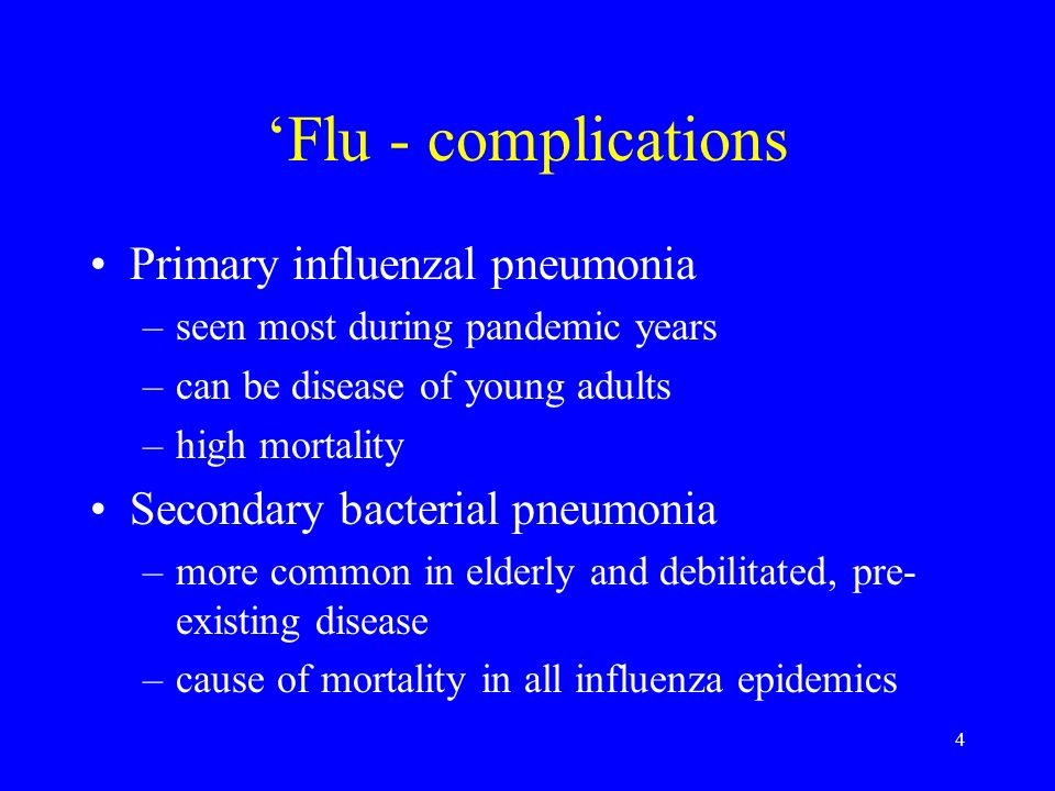 35 Lecture objectives An understanding of the epidemiology, presentation, management and prevention of many of the most important viral and atypical causes of respiratory infection.