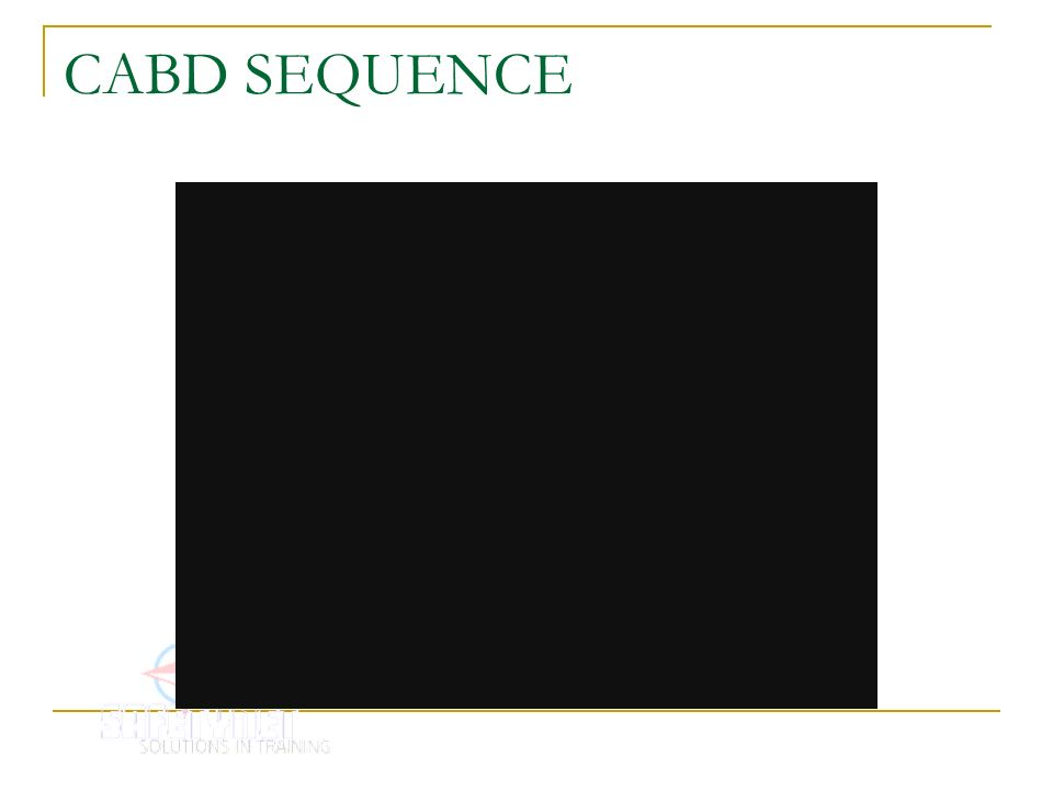 CABD SEQUENCE