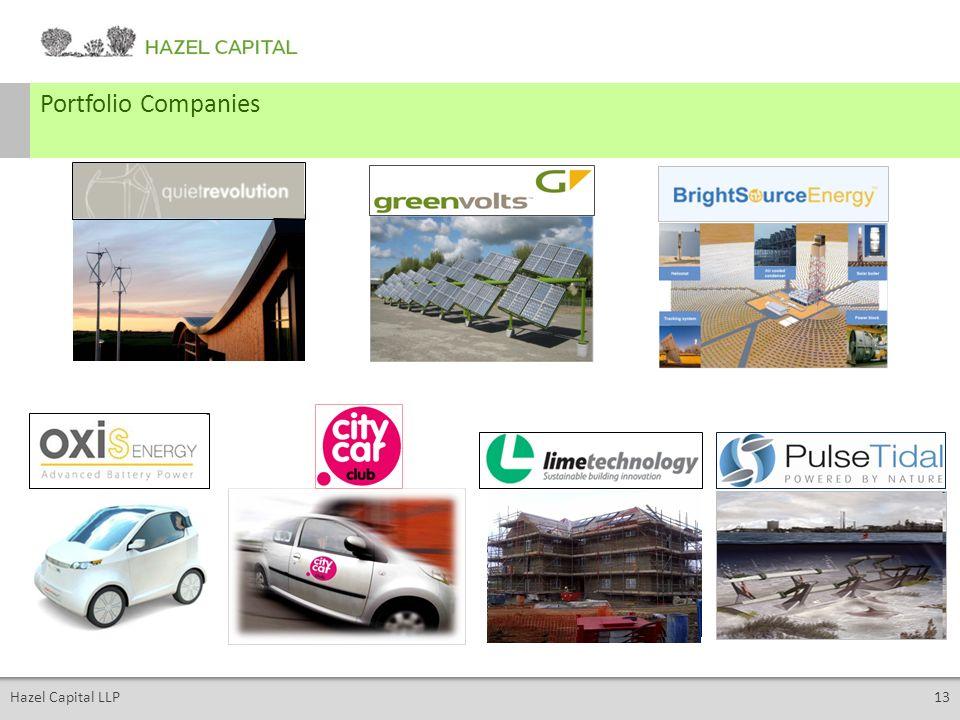 Hazel Capital LLP13 Portfolio Companies