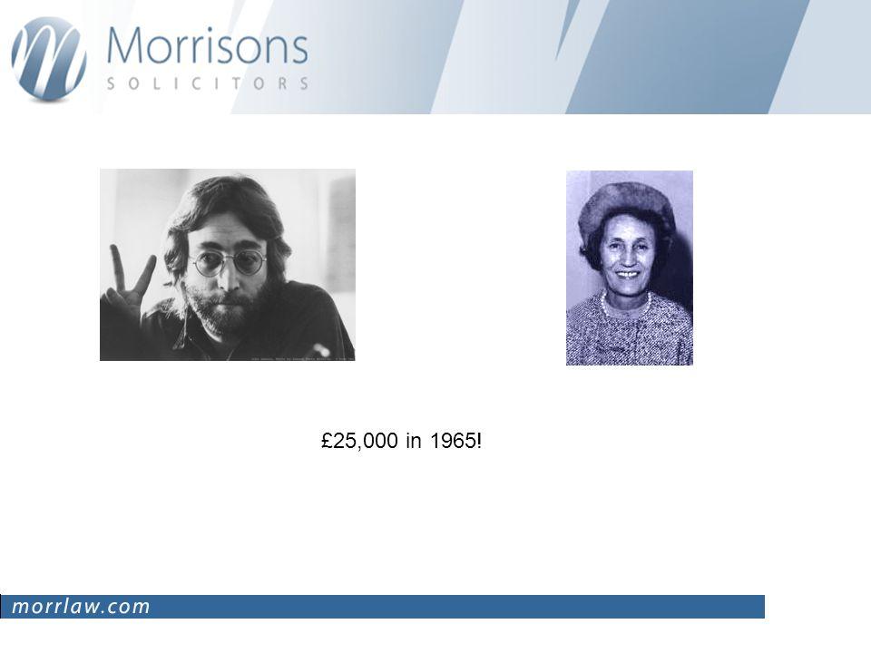 £25,000 in 1965!