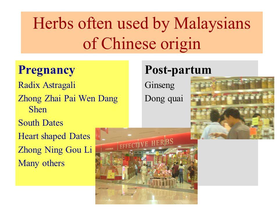 Pregnancy Radix Astragali Zhong Zhai Pai Wen Dang Shen South Dates Heart shaped Dates Zhong Ning Gou Li Many others Post-partum Ginseng Dong quai Herb