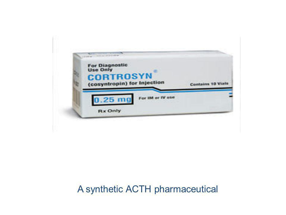 A synthetic ACTH pharmaceutical