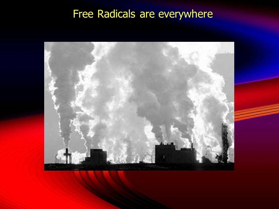 Free Radicals are everywhere