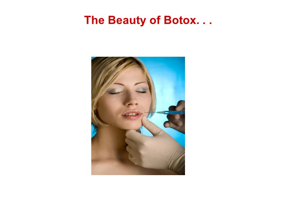 The Beauty of Botox...