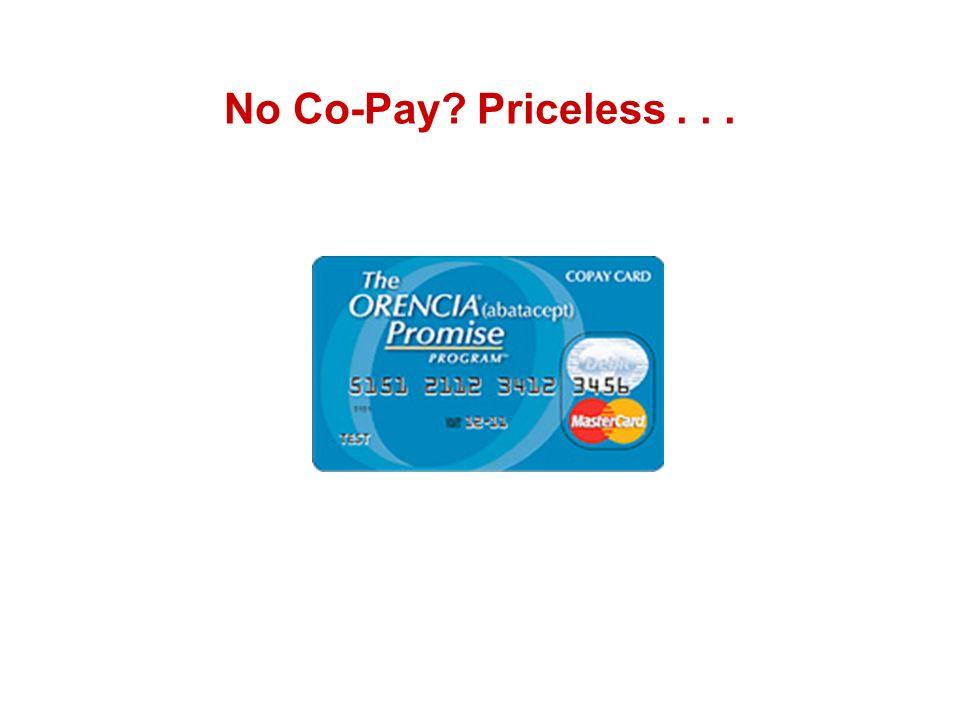 No Co-Pay? Priceless...