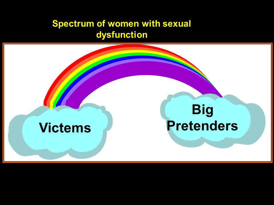 Victems Big Pretenders Spectrum of women with sexual dysfunction