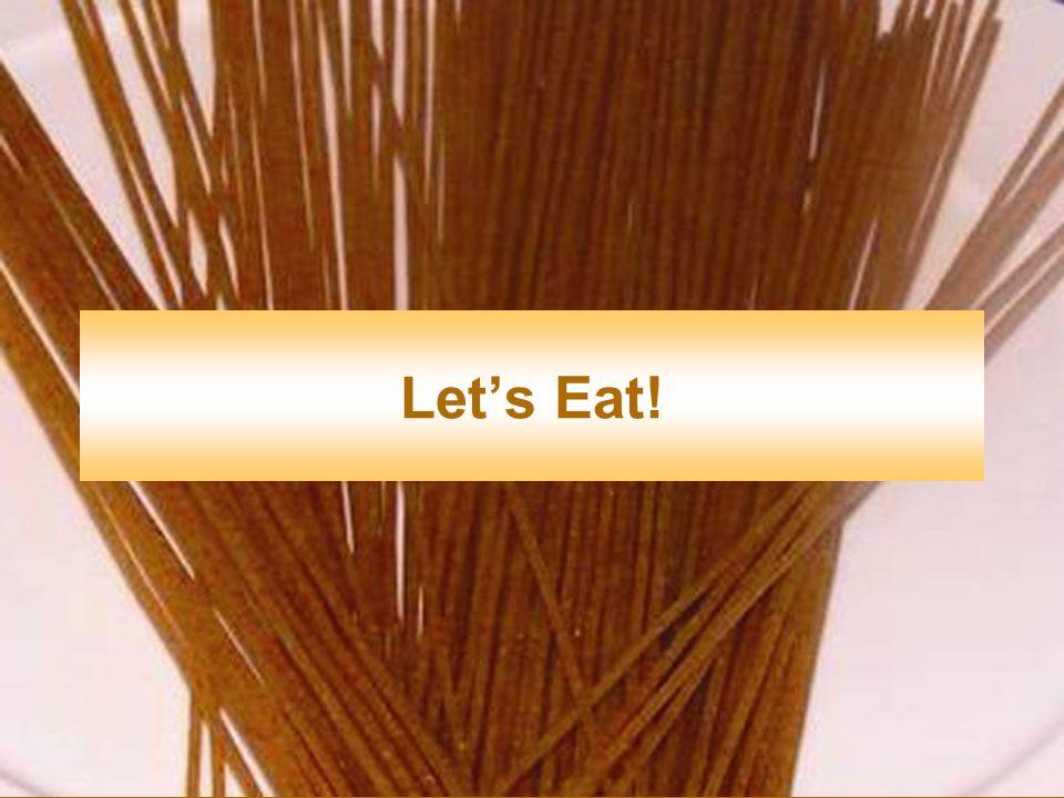 Lets Eat!